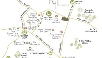 hyll-on-holland-condo-location-map-singapore