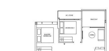 hyll-on-holland-floor-plan-2-bedroom-type-b1-singapore