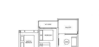 hyll-on-holland-floor-plan-2-bedroom-type-c1-singapore